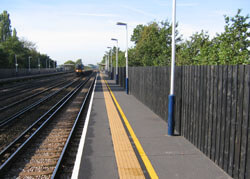 MCL load bearing anti-slip panels installed at Berrylands Station, Surbiton KY5 8LT for Main Contractor McNeally Brown in 2001